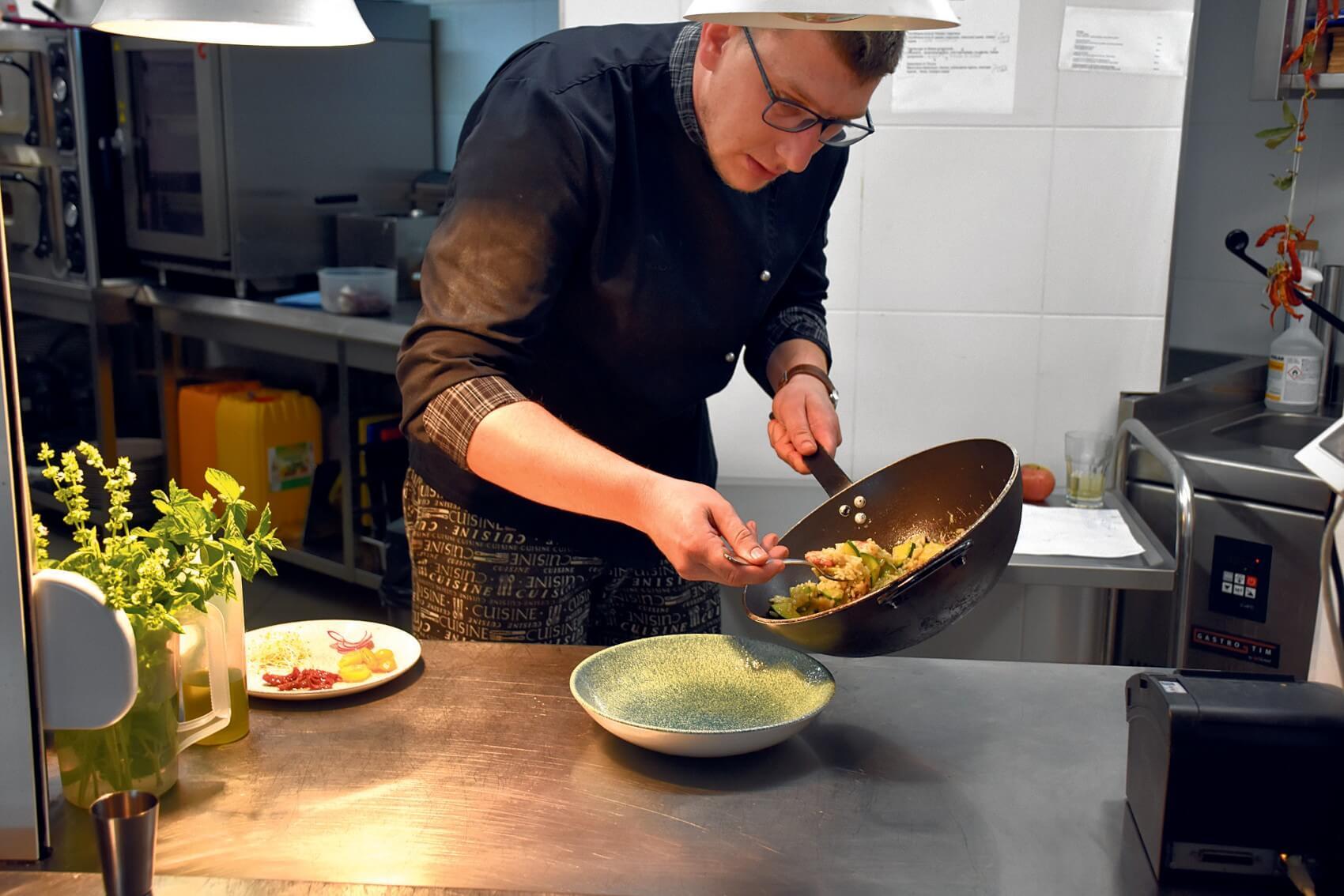 Ivan Chef of G Chelo Restaurant on Kalamota