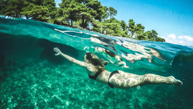Snorkeling activity on Kalamota