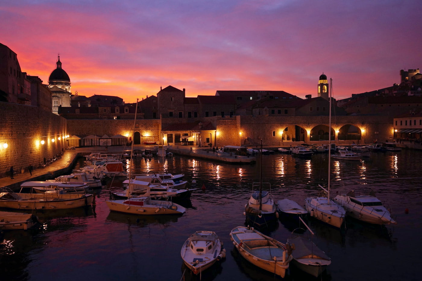Atmosphere, culture and architecture of Dubrovnik