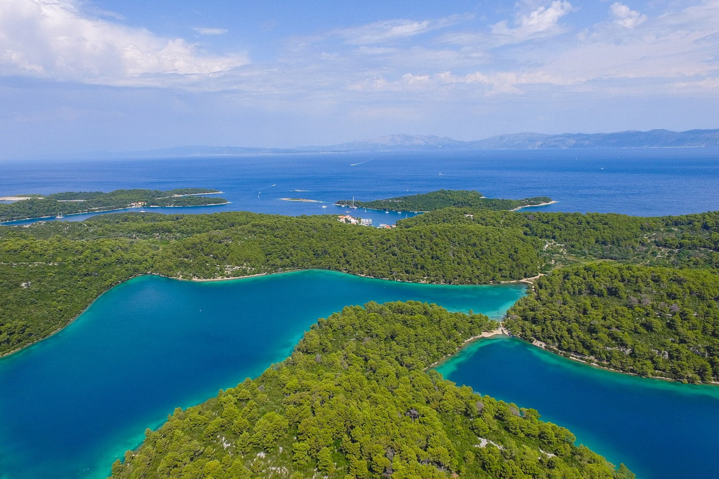 Green Nature Appeal of Mljet
