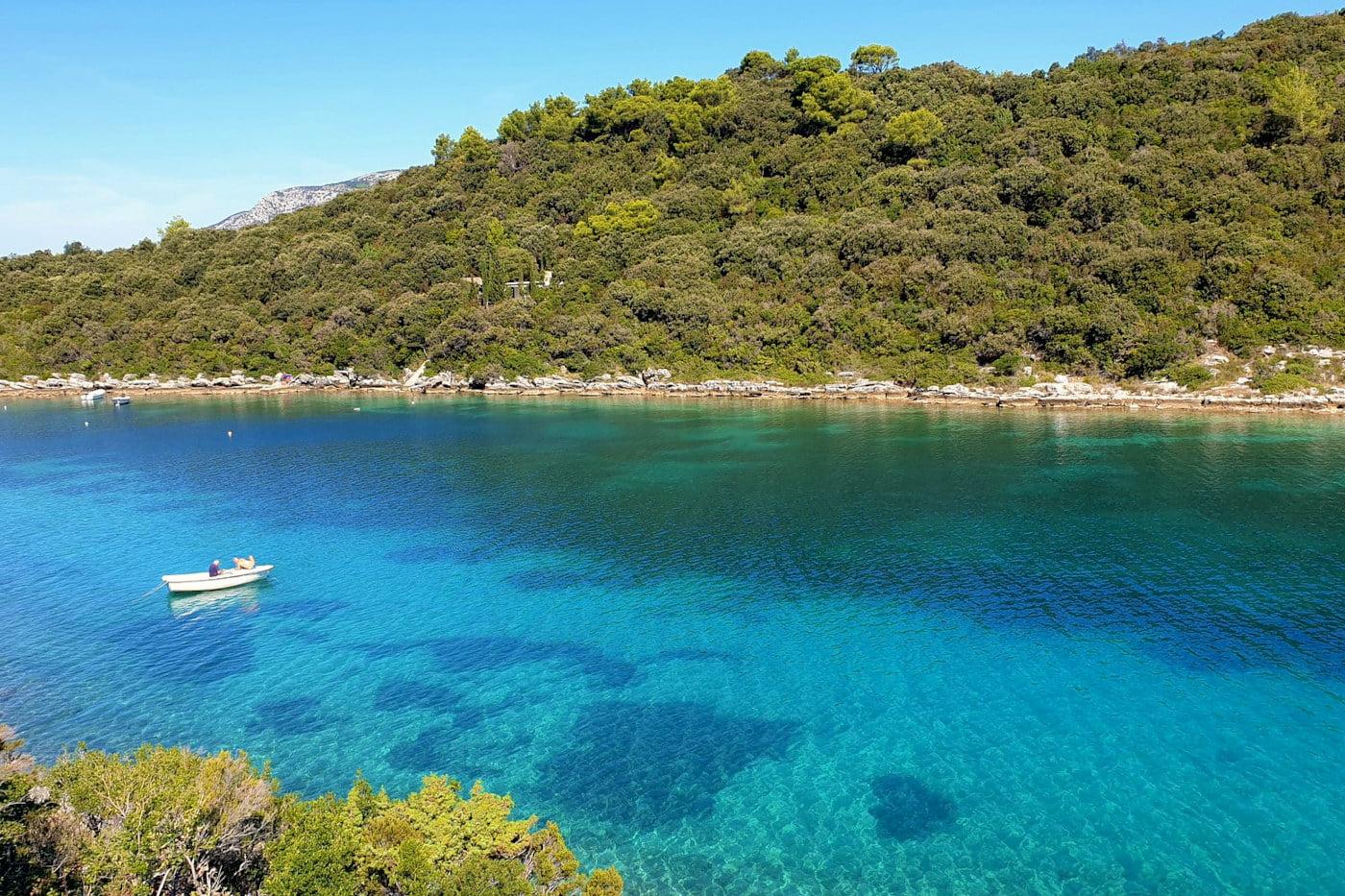 Korčula Island a destination of preserved nature