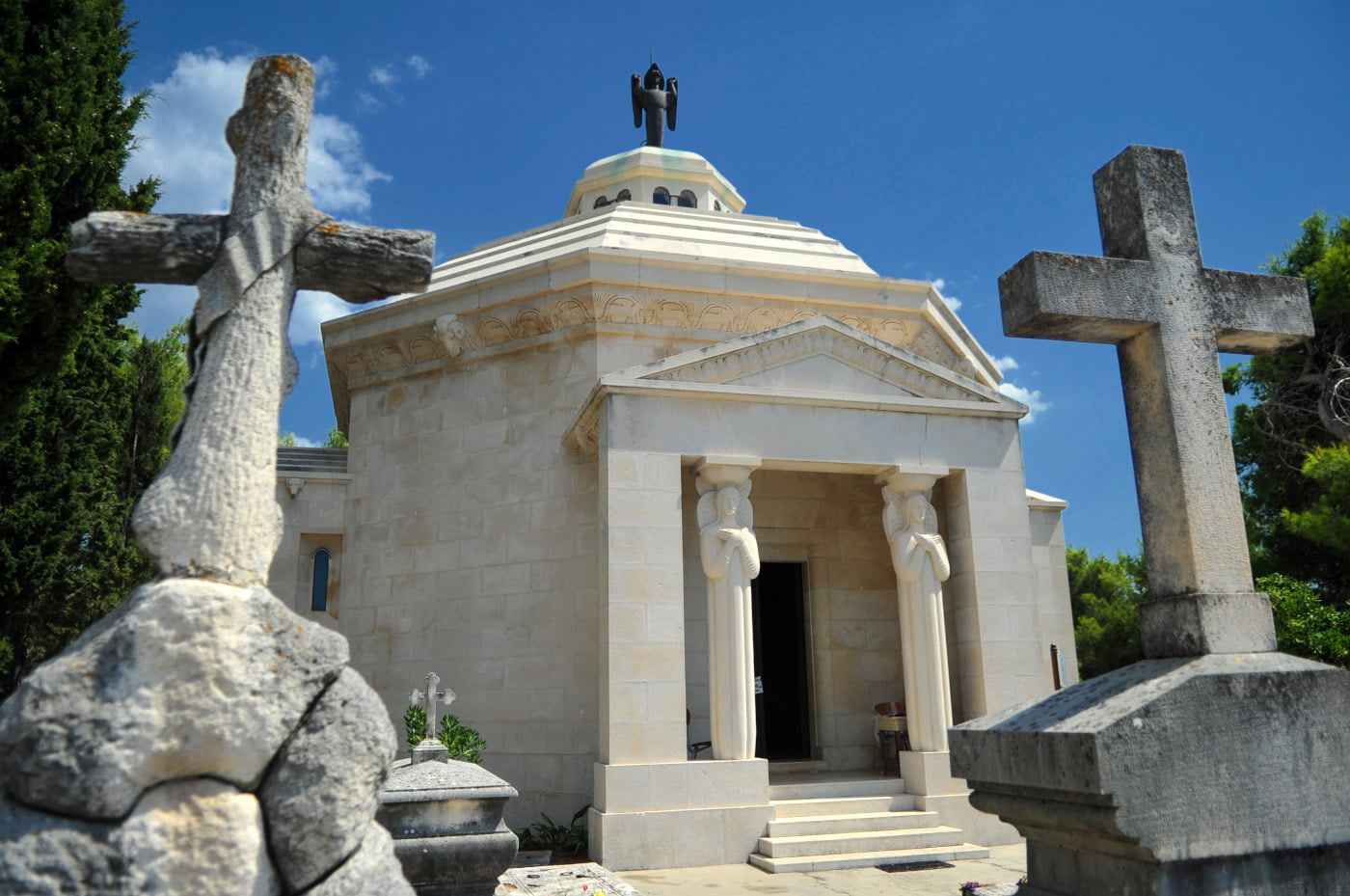 Racic Mausoleum in Town of Cavtat